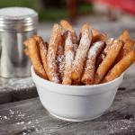 So Yummy! Funnel Fries (served with maple syrup and icing sugar)