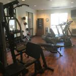 Better than average fitness room