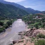 Die Mission neben dem Rio Fuerte