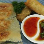 Home Made Dumplings and Spring Roll, our top seller!!