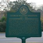 Historical Marker for Georgia Military Institute