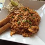 Chicken pad Thai for $7.95 (lunch)