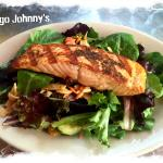 Grilled Salmon Pacific Rim Salad