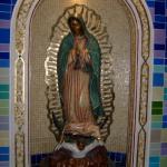 La Hermosa Virgen de Guadalupe en la Capilla de los No Nacidos /