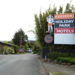 Sign of Kerikeri Holiday Park