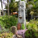 Garden at Kerikeri Holiday Park