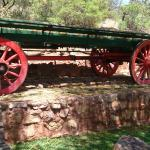 one of the display wagons