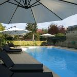 Outdoor, heated pool
