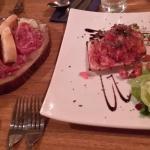 Anti pasti and bruschetta