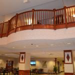 Balcony Overlooking Guest Services Area