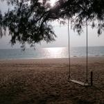 beach 200m from the hotel