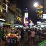 Улица Каосан (Khao San Road)