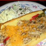 Pulled Pork Hoagie w/ Potato Salad, Cole Slaw