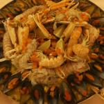 Ottima paella! Cucinata dagli chef Alberto e Mauro!!!