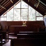 Inside Arthur's Pass Chapel