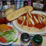 Spaghetti  Chicken