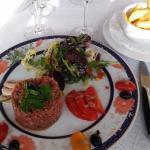 Steak tartare frais