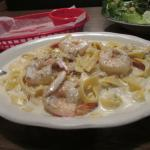 Shrimp and Crab Alfredo