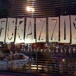 Fugazzis' Main Front Window