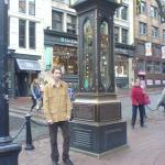 Steam Clock & me