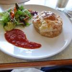 Pie lunch dish