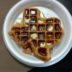 The 'Texas' Golden Malted Waffle