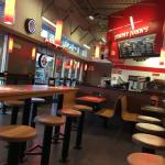 Jimmy John's dining area.
