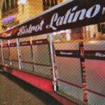 ospiti di amici a cena al Bistrot Latino
