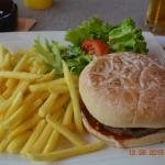 The Yummy for my Tummy Hamburger with Fries