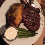 Our 22oz Cowboys cut bone in ribeye!