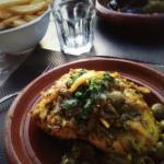 tajine poulet aux olives et citron confit mmmmmhh