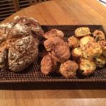 Soda bread, Ginger and Fruit scones