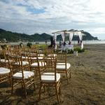 Your beach wedding?  Our wedding planner can help with all the arrangements
