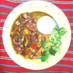 Pulpo en salsa criolla