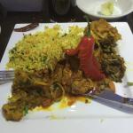 North Indian Garlic Chicken