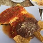 Chile Relleno Omelet With Machaca