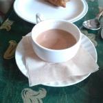 The chai - too sweet!