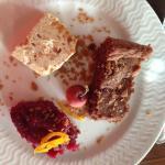 L'assiette des desserts