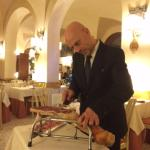 Antonio - the best waiter i have seen for a long time-doing a brilliant job without speaking Eng