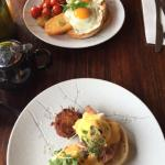Eggs Benedict and 'make your own' great breakfast options