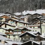 Hotel Ansicht von Süden Winter