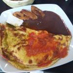Omelete de la casa