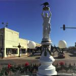 Boll Weevil Monument Foto