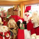 Santa 's on his way....