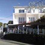 vue de l'hotel restaurant