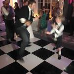 Comfortably accommodated 100 guests and a dance floor