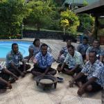 Some of the wonderful Daku staff