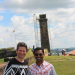 GALLE DUTCH FORT WITH MARTIN