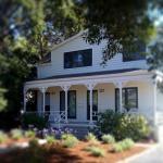 Auberge Sonoma front porch