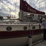 Lionheart arriving at the docks!